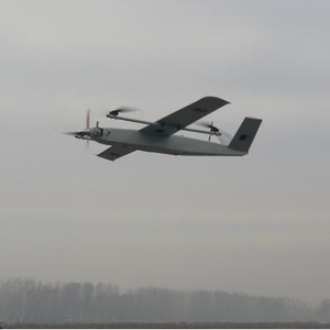 6-8 hours VTOL fixed wing long endurance drone for city and border surveillance
