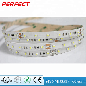 CE ROHS UL 20m 60 led/m SMD 3528 led strip DC 24Vwith the same brightness from the head to the end wholesale