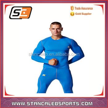 Stan Caleb Sports Professional Tight Manufauturers t-shirt Compression  machine long sleeves compression shirt a1aa1ba419de