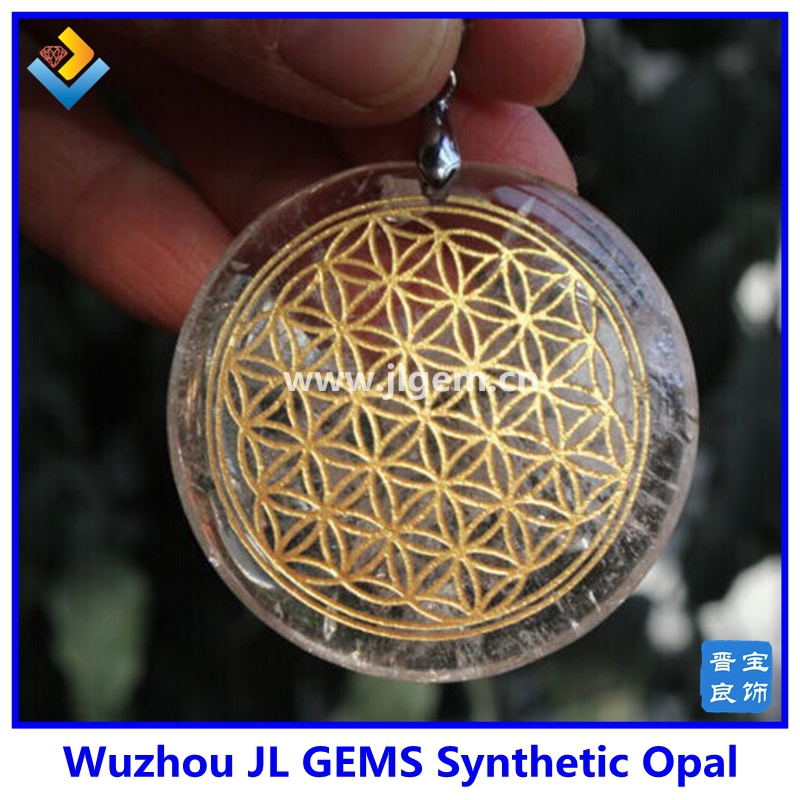 Hot sale clear natural quartz crystal flower of life pendant clear natural quartz crystal flower of life pendant healing aloadofball Choice Image