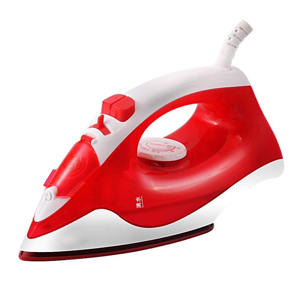 CDREAM Electric Iron Household Steam Iron Hand-Held Small Ironing Iron 1100W Automatic Descaling,Red