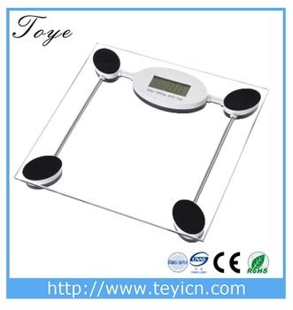 High Sensitive Balance Bathroom Scales Body Weight Scale Battery Analyzer