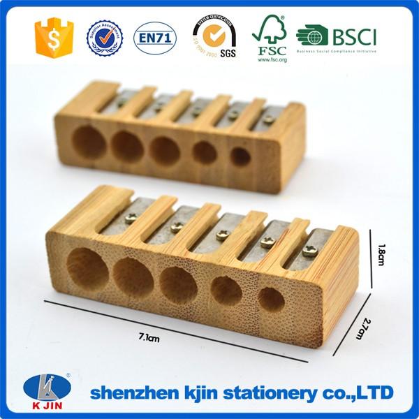 Wooden Pencil Sharpener