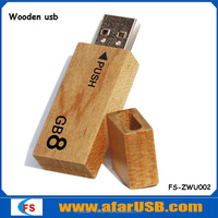 2014 Gift of promotions, Wooden usb flash drive, free data load pen drive usb