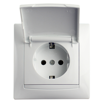Colorful High Quality electrical smart 220V Euro Usb 12v Wall Socket and switches