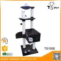 Promotional Best Quality Fashion cat toy cat tree condo plans