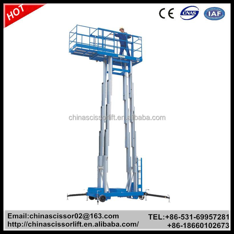 Aluminium Telescoping Lift Lift Mechanism Portable Lifter