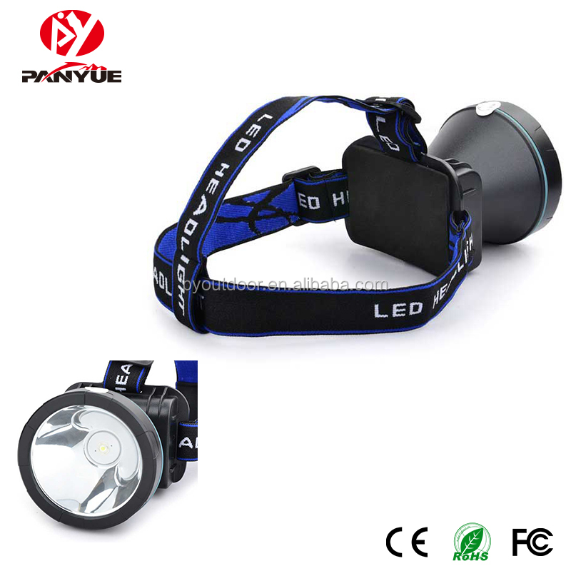 Miner's lamp 3 modes white light sourcing brightness working rechargeable led headlamp