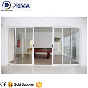 Aluminum Single Door Design Sliding Glass Door With Grills Steel Entry Doors Arch Top