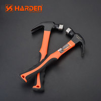 Wholesale Custom Carbon Steel Nail Claw Hammer With Fiberglass Handle