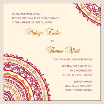 Delightful Low Price Indian Wedding Invitation Cards
