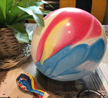 popular 12inch 3.2 gram wholesale cloud agate balloons multicolor marble printing latex balloons