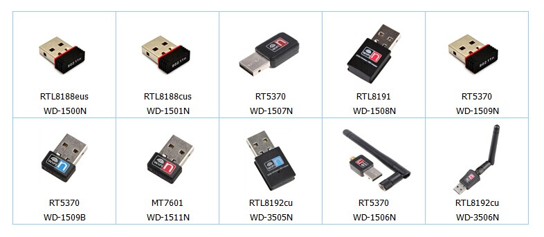 Ralink Rt5370 Usb Adapter For Andriod/phone/pc/802.11n 150m Mini ...