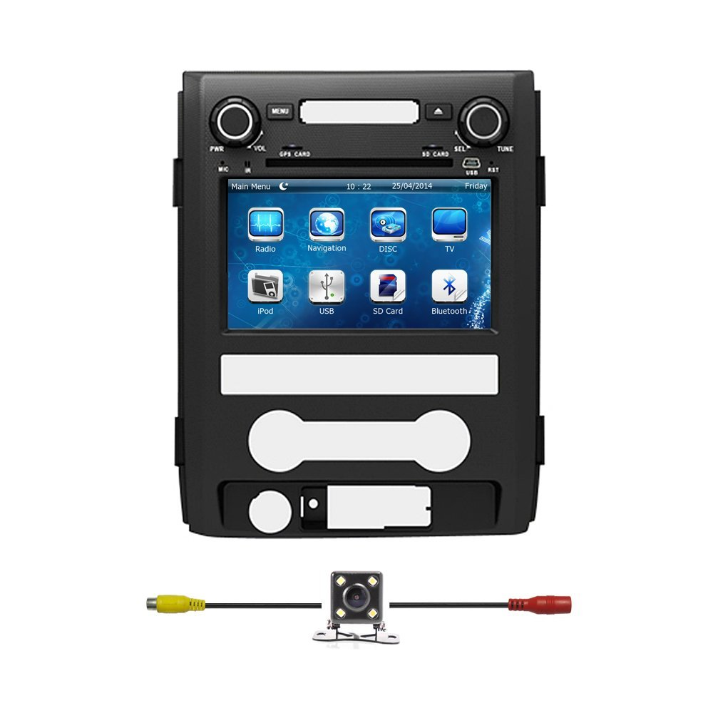 Buy 8quot Car Gps Navigation Dvd Suzuki Sx4 2 Din Touch Screen 2014 Ford F 150 Radio Bluelotus8car For F150 2010 2011 2012 2013 With Bluetooth Tv Steering Wheel Control Rds Sd Usb Aux In Free Backup