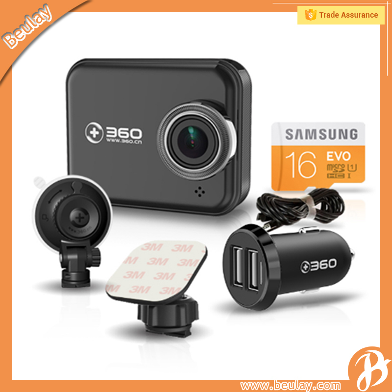 360 Video Camera Car Recorder Suit With Memory Card And Car Charger