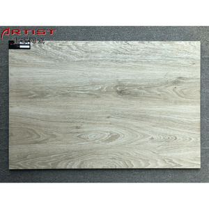 Cheap customized logo glazed floor tiles from china wood grain tiles Bangladesh low-price