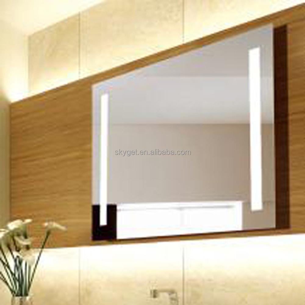 Bathroom Mirror With Led Lighting Modern Green House
