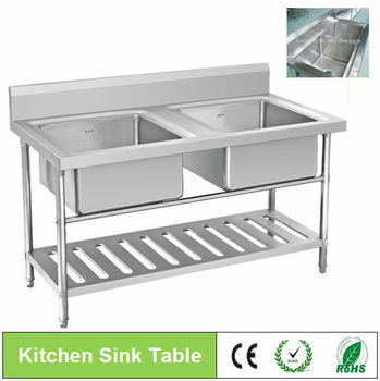 Restaurant Kitchen Sink/commercial Stainless Steel Sink/wash Sink For Hotel