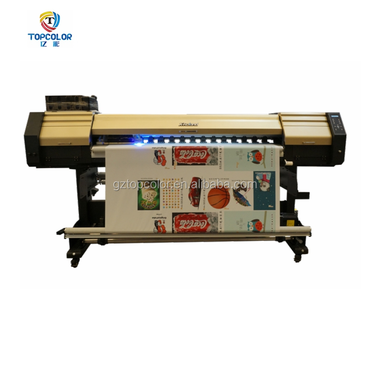 Factory price 1.8m 1.85m double 5113 heads textile printer multi color best DTG direct to fabric sublimation printer machine