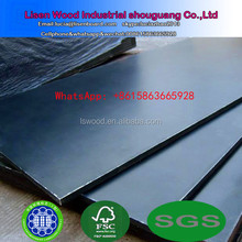 Cheap 18mm black Film Faced Plywood / WBP phenolic concrete formwork plywood / Marine plywood construction boards price