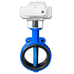 Ductile iron Body CF8 Disc EPDM seat dn 100 butterfly valves