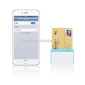 Bluetooth Interface Encryption Mobile Magnetic Stripe Card Reader with A  Simple Mobile Payment System