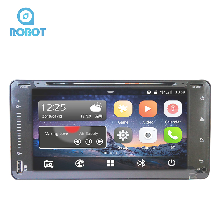Best Sales Multimedia Entertainment System Full Touch Screen Car DVD Player Car Stereo With SD Card Reader