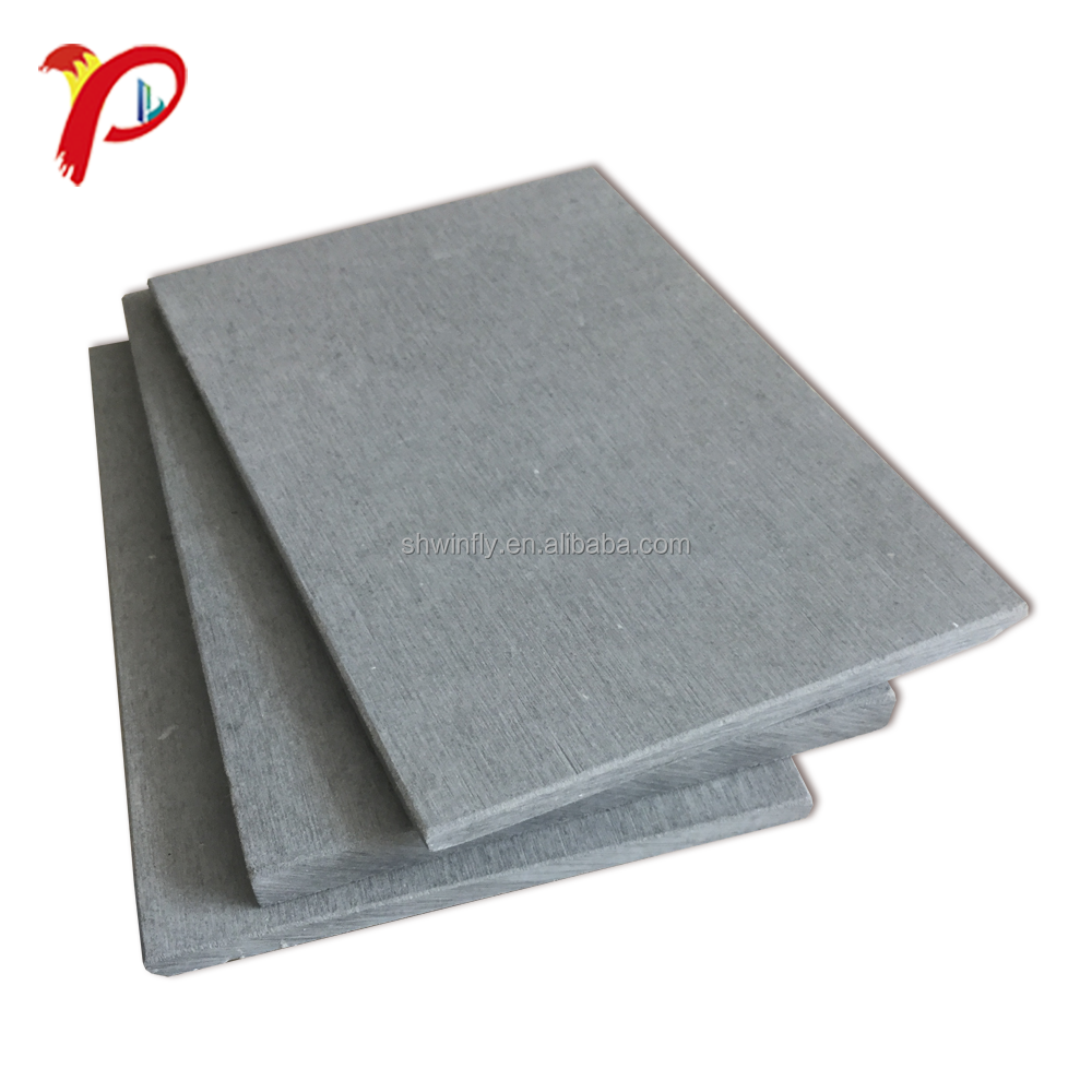 Fire Nominale 100% Non Asbest 18mm Fiber Cement Board Voor Floor
