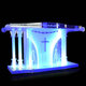 GUIHEYUN Modern Design Clear Acrylic Podium Pulpit Lectern Lucite Lectern Plexiglass Church Pulpits