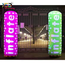 Advertising inflate tube / lighting pillar balloon with printing