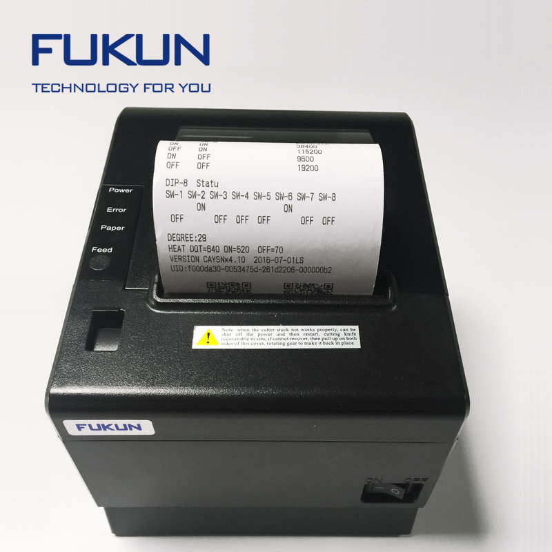 FK-POS80AT android usb receipt android thermal usb printer with transparant shell +multi language support