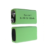 High capacity 300mAh 9v nimh rechargeable battery pack
