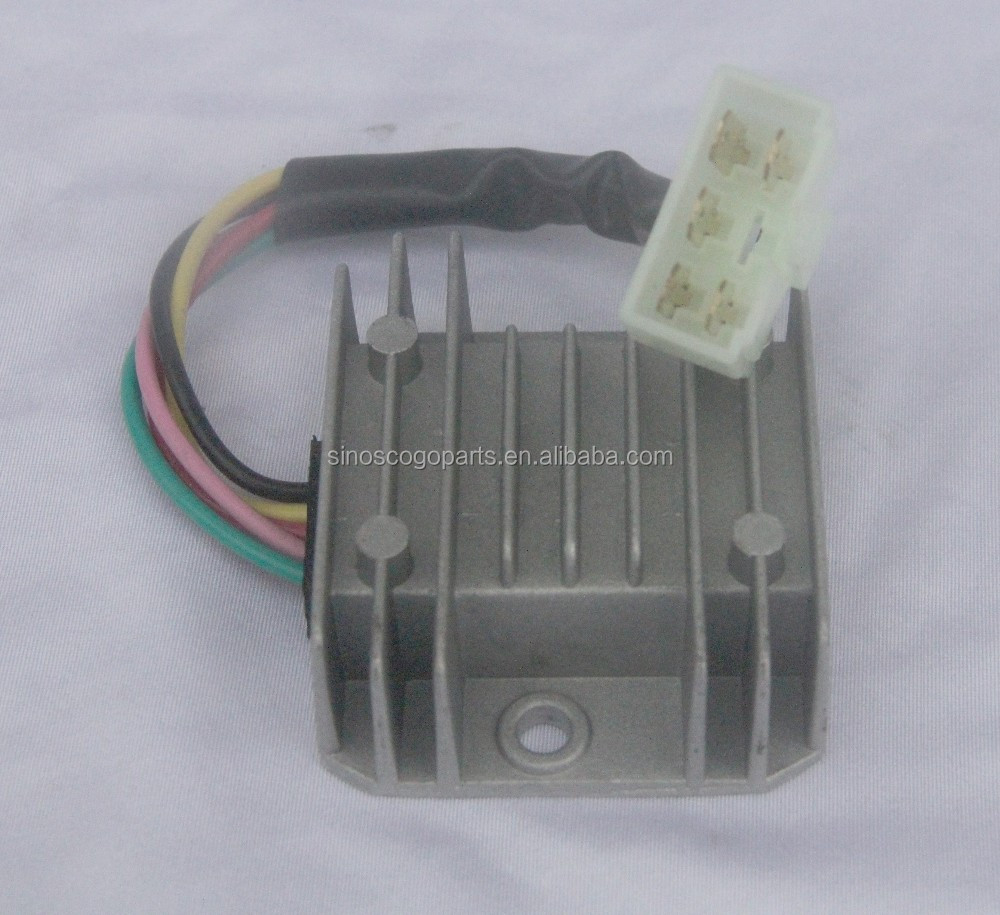 5 Wire 2 Phase Motorcycle Regulator Rectifier 12v Dc
