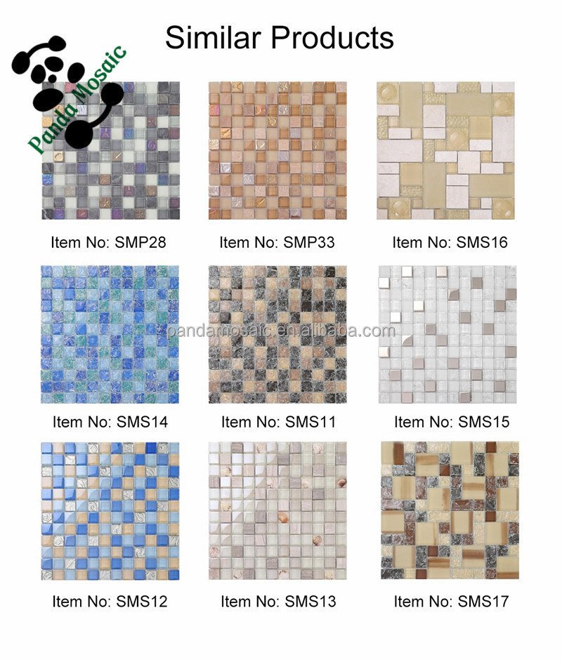 Rhombus Crack Crystal Mosaic Tiles For Bathroom Floor Tiles Sms10 ...