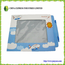 Promotional Unique 13 x 19 cm Multi Color Paper Cardboard Magic Drawing Slate/Board for Kid
