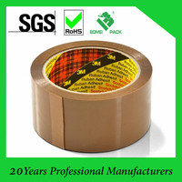 with brown custom printed paper core water based bopp packing tape China Cheapest
