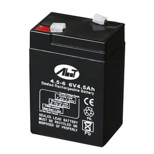 capacity can be customized lead carbon acid 6v 4.5ah battery