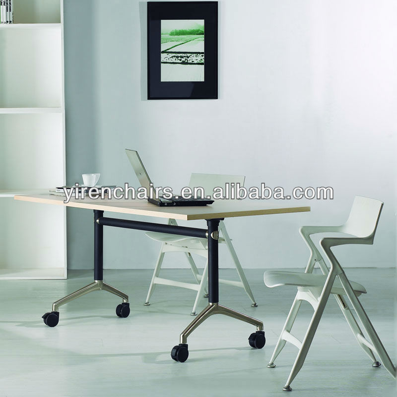 fashion trendy design dining table/Folding long narrow kitchen tables
