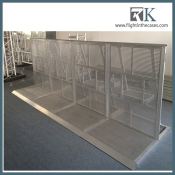 Flexible & Anti-rust Framelock Crowd Barriers/barricade/concert Crash  Barricade/event Security Barrier - Buy Crowd Barriers,Concert Crash
