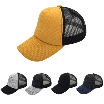 Adult 5 Panels Cotton Trucker Hat Snapbacks Cap New Hot Style Sweater  Material Hat 34b078107826