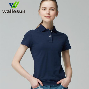 5d3f30a0 OEM logo work clothes women's office uniform design polo shirt, women polo  shirts