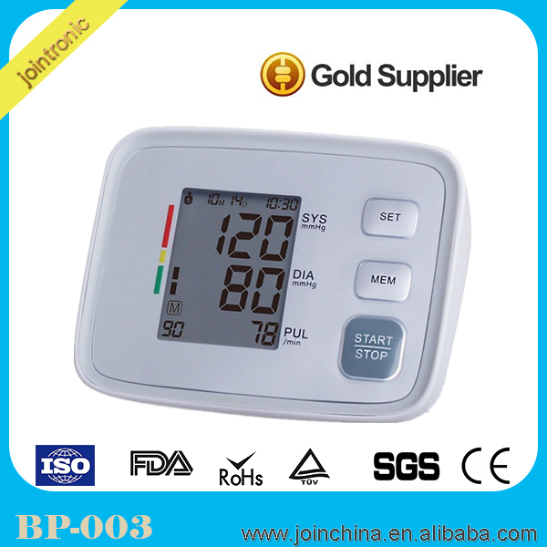 Rohs and CE Approved Best Digital blood pressure monitor,large full-automatic electronic blood pressure cuff
