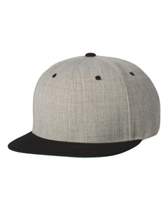 Classical custom blank snapback cap 100% cotton twill top grade high quality hit hop cap