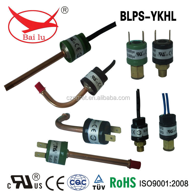 high/low pressure mini pressure switches for air compressor