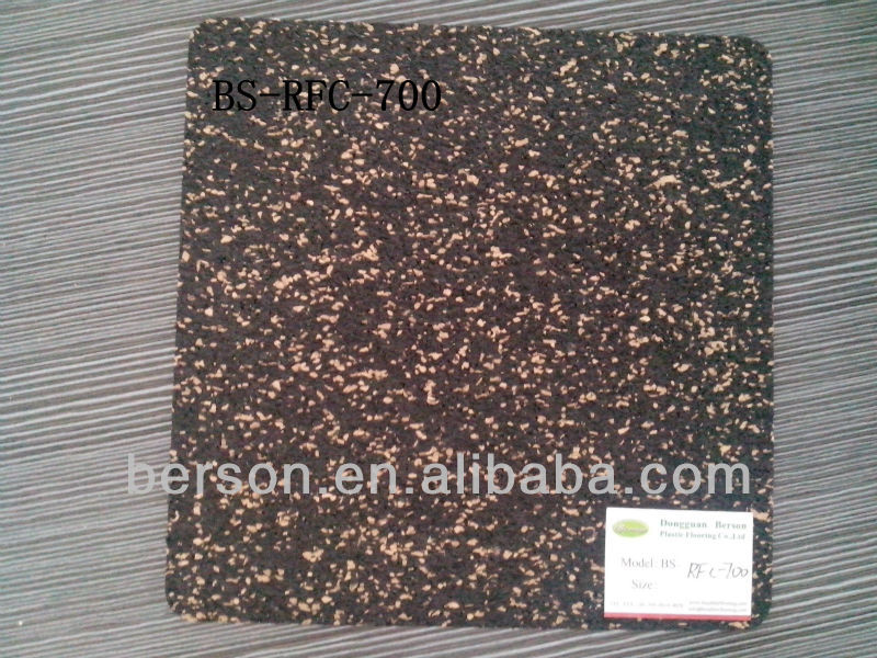 Super! Soundproof & Shockproof Underlay Rubber Flooring Free ...
