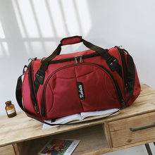 Мужские спортивные сумки для тренировок, нейлоновые баскетбольные сумки для фитнеса, дорожные сумки Dufflhe, спортивная сумка для спорта на от...(Китай)