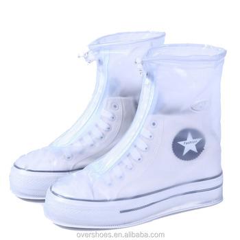 Wholesale Plastic Rain Shoe Covers High Top Anti Slip Outdoor Waterproof Shoe Covers Buy Sport Style Rain Shoe Coverstransparent Rain Shoe