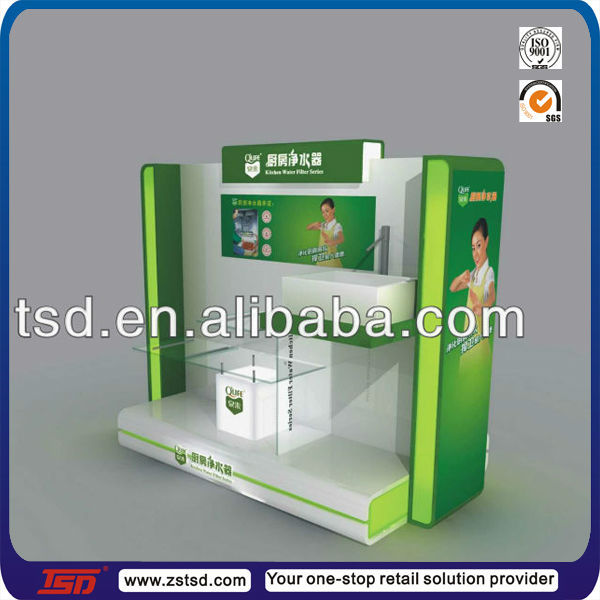 Tsd m063 Durable Supermarket Floor Standing Wall