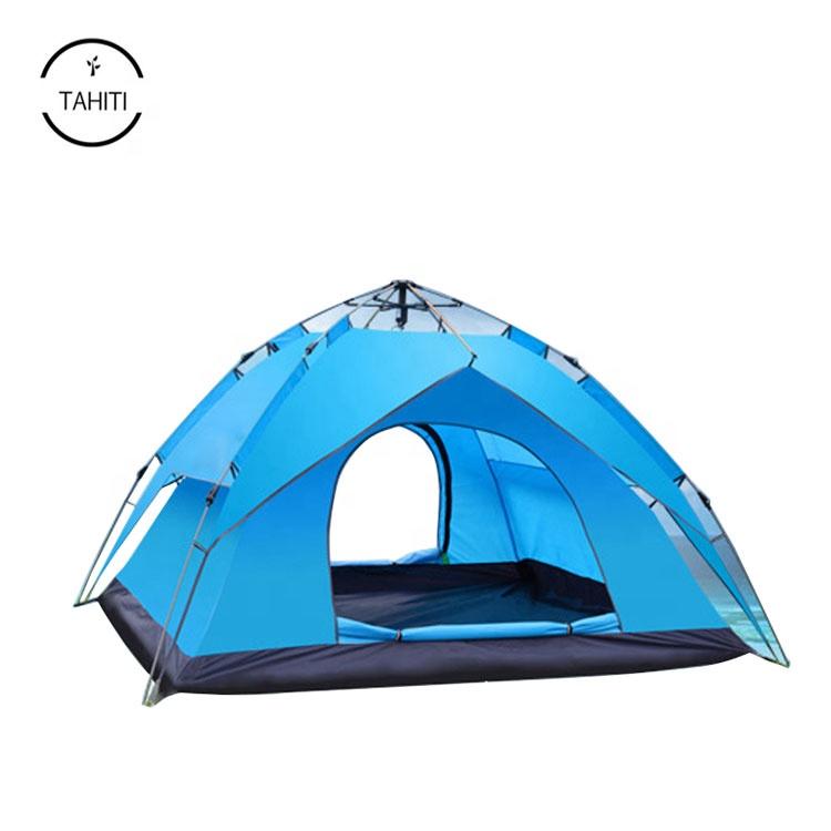 47ddf8395 Pop Up automático 3 Estação Dupla Camada Mochila Tenda Rainfly Proteção UV  para Camping