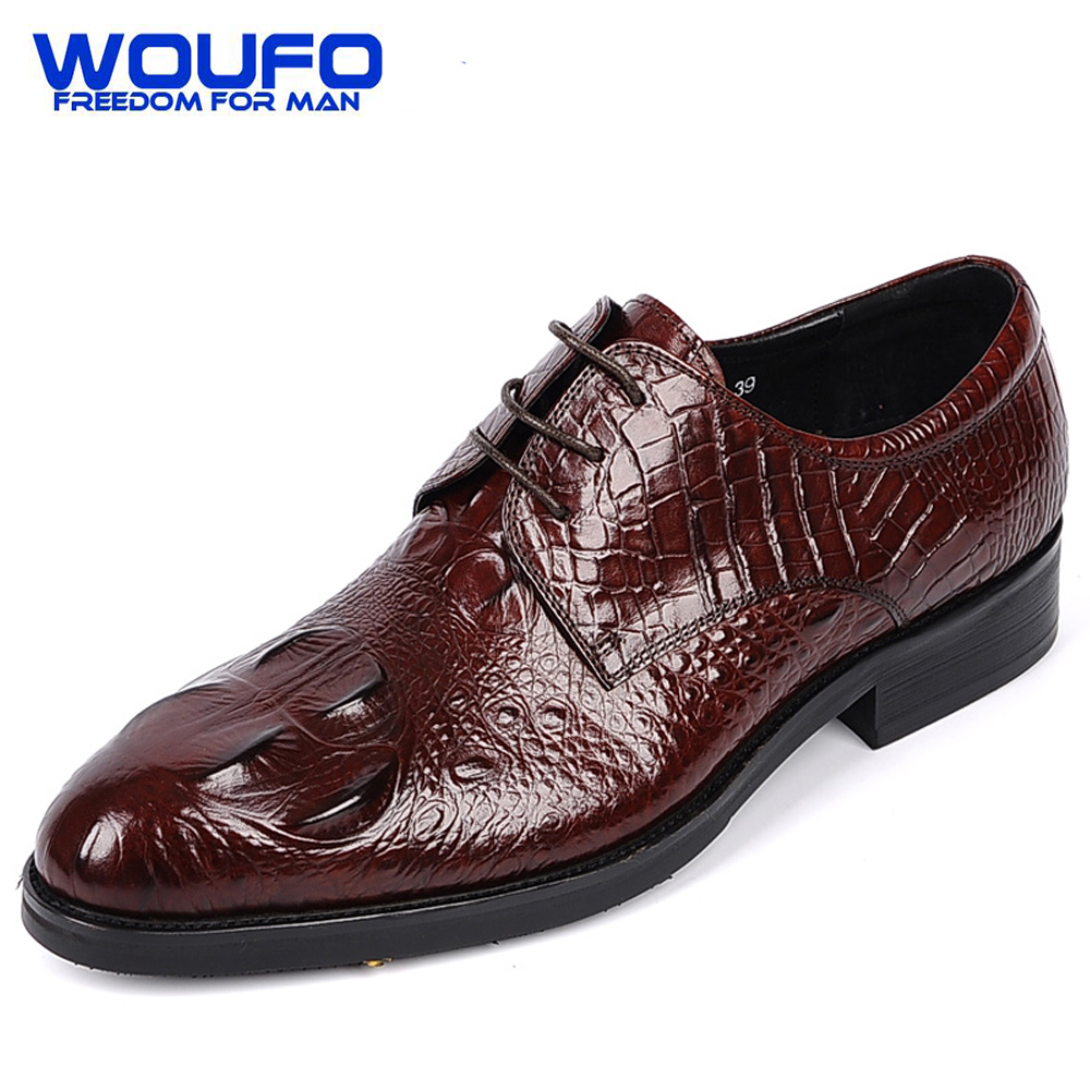 Red Alligator Shoes